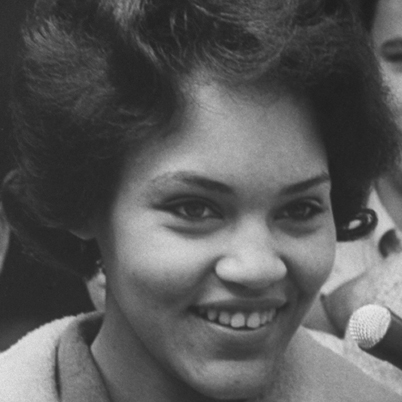 Charlayne Hunter, my model for Janet Tomalin.