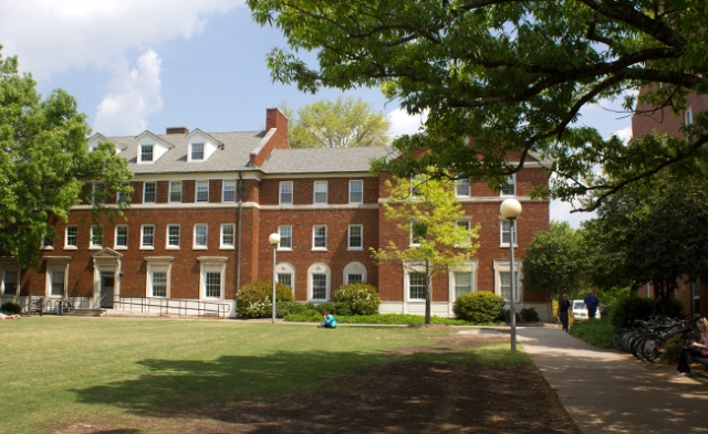 Reed Hall in the central part of the University of Georgia campus.